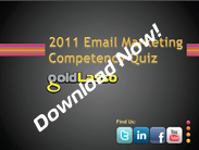 2011 Email Marketing Competency Quiz